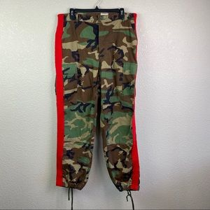 LF Furst of a Kind Camo Pants Red Stripe One Size